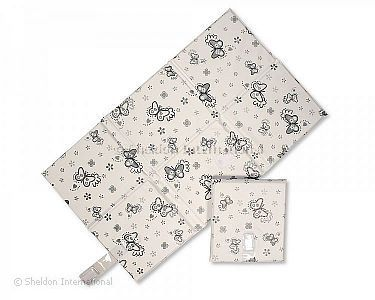 Baby Travel Changing Mat - Butterfly - Wholesale