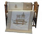 Cot Quilt and Bumper Set - Cows