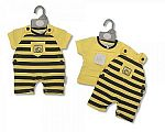 Wholesale Cotton 2 pcs Dungaree Set - Bees Knees