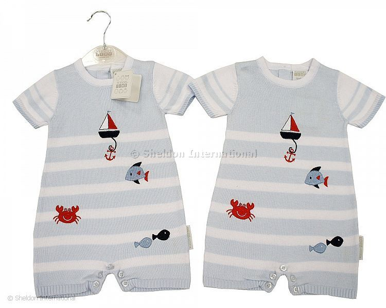 Next Baby Girls robe bleu /& blanc 3-6 mois BNWT