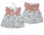 Baby Girls Knitted Dress with Bow
