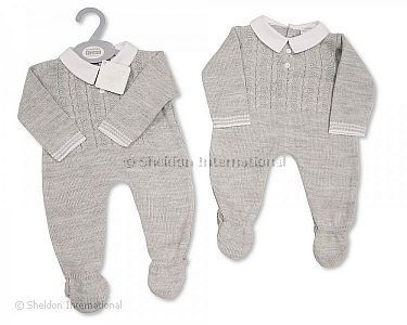 Knitted Baby Long Romper - Wholesale