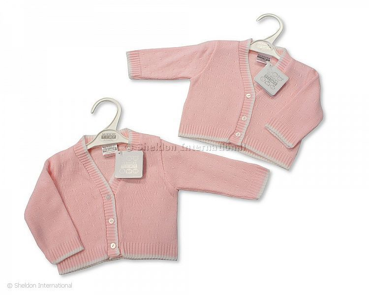 d591f7d6834d Knitted Baby Girls Cardigan - 519 - Wholesale