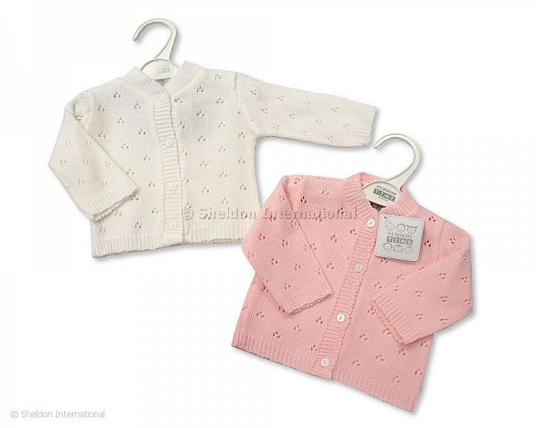 991a8679a332 Knitted Baby Girls Cardigan - 520 - Wholesale