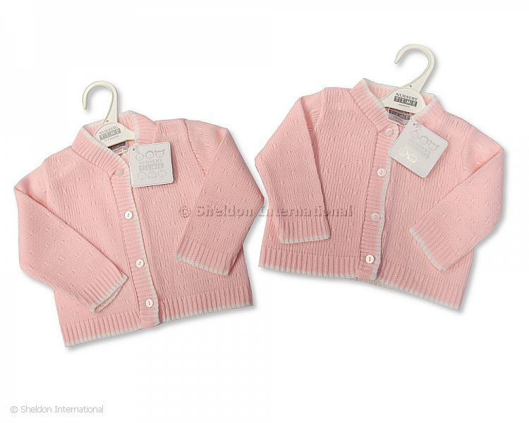 b1526d711c39 Knitted Baby Girls Cardigan - 527a - Wholesale