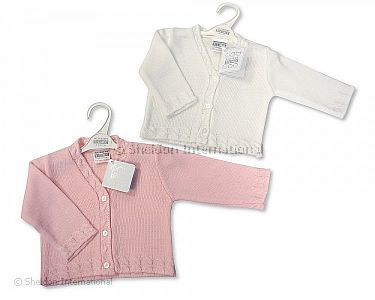 d2c3d3a15f30 Knitted Baby Girls Cardigan - 536 - Wholesale