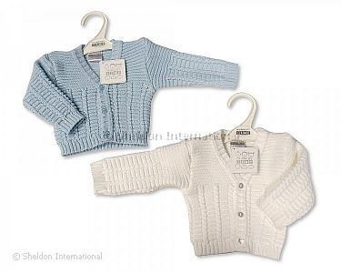 Knitted Baby Boys Cardigan - 106 - Wholesale