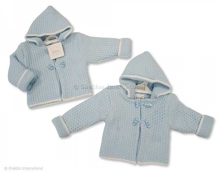 bc1a53976fa4 Knitted Baby Boys Pram Coat - 628 - Wholesale