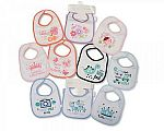 Baby Bibs -PEVA Back - Packs of 5