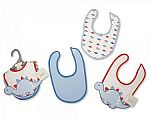 Baby 3d Bibs - Packs of 3 - Boys