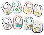 Baby Days of the Week Bibs - Boys - Animals