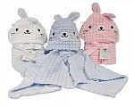 Wholesale Hooded Wrap - Rabbit