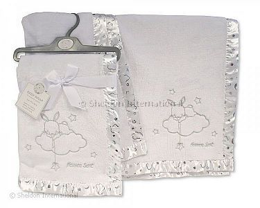 Baby Christening Wrap - Heaven Sent - Wholesale