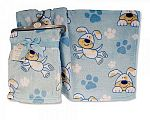 Baby Boys Printed Wrap - Doggy