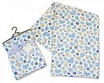 Baby Wrap Hearts - Sky - Wholesale