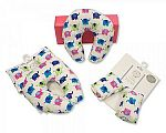 Baby Neck Cushion and Seat Belt Pads Travel Set - Girls