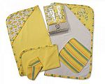 Baby Hooded Towel and Wash Cloth Set