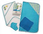 Baby Boys Hooded Towel and Wash Cloth Set