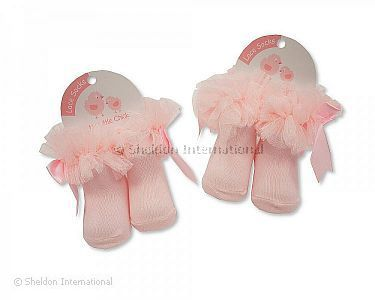 Baby Tutu Socks - Pink - Wholesale