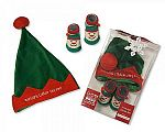 Wholesale Hat and Socks Christmas Gift Set - Elf