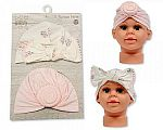 Baby Turban Hats - Pack of 2