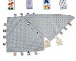 Baby Dotted Comforter with Tags - Sky