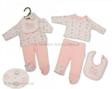Premature Baby 3 pcs Set - Cupcake - Wholesale