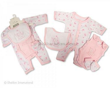 Premature Baby Girls Incubator 4 pcs Set - 2.5 Kg - Wholesale
