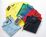 Wholesale Pique Polo Shirts - 36-38